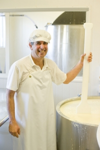 Portrait of Ignacio Guimaraes the cheesemaker at Hohepa in Hawkes Bay