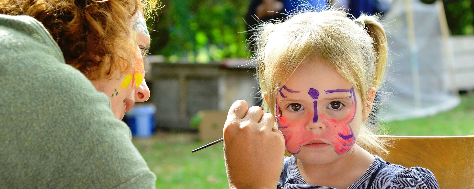 HB Hohepa Fair 2015 Face Painting