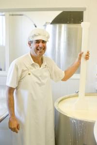 Portrait of Ignacio Guimaraes the cheesemaker at Hohepa in Hawkes Bay