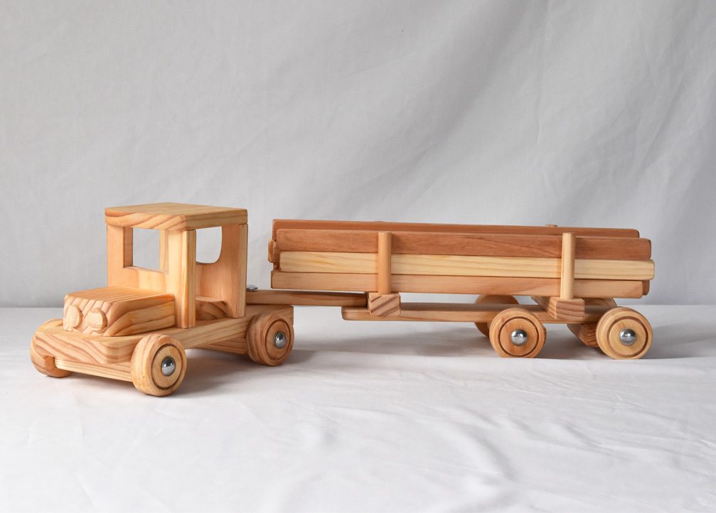 Toy Logging truck