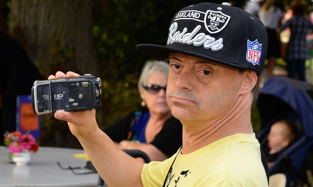 Hohepa HB Fair Cameraman
